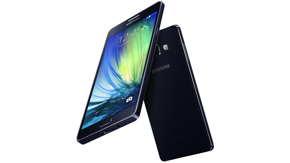 Samsung's Galaxy A7 is a slim mid-range Android KitKat performer
