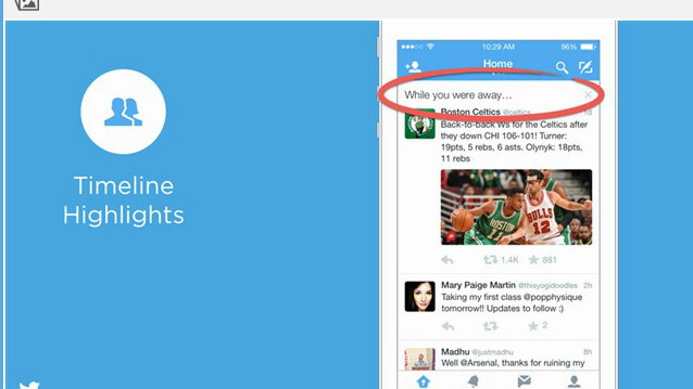 Twitter's new 'While You Were Away' recaps have been spotted on users' timelines