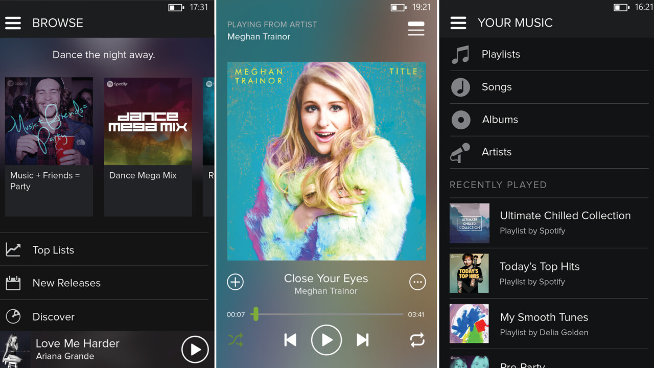 Spotify gets a fresh lick of paint and new features on Windows Phone