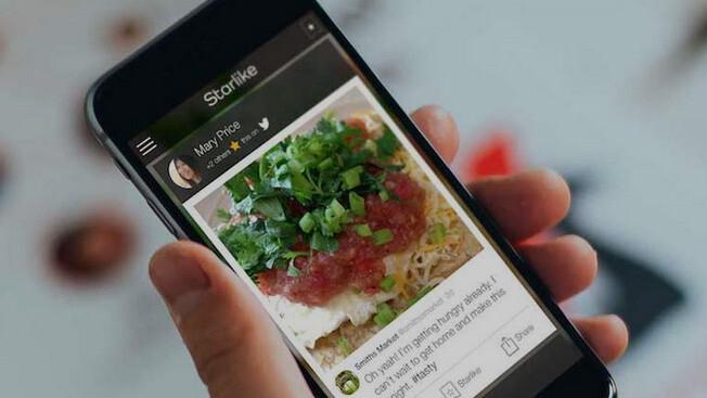 Starlike app reveals your friends' favorites