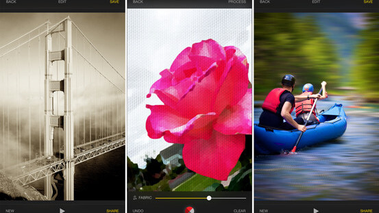 Upgrade of Exposure iOS photo editing app features intensity control and more effects