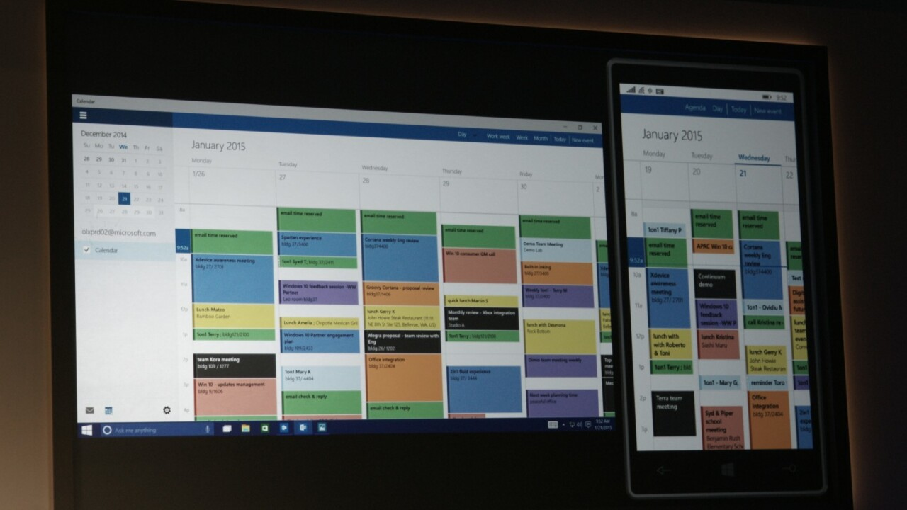 Windows 10 apps are now the same on desktop and mobile