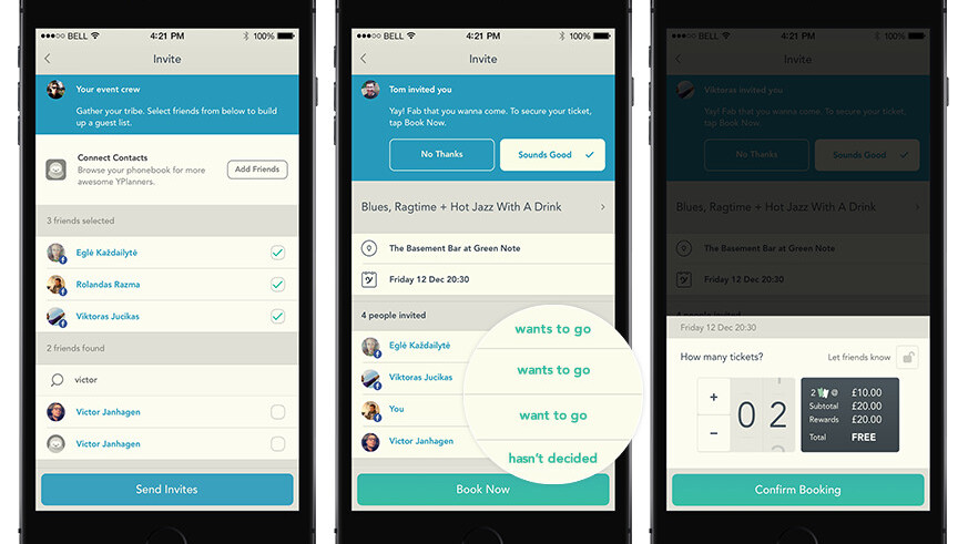 YPlan adds new features designed to make it easier to nail down plans with friends