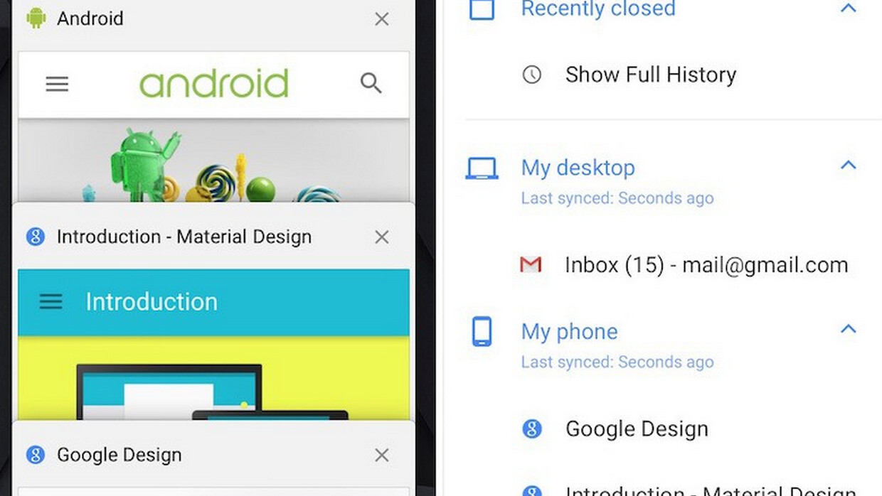 Chrome 40 for iOS arrives with handoff support, Material Design and iPhone 6 optimization