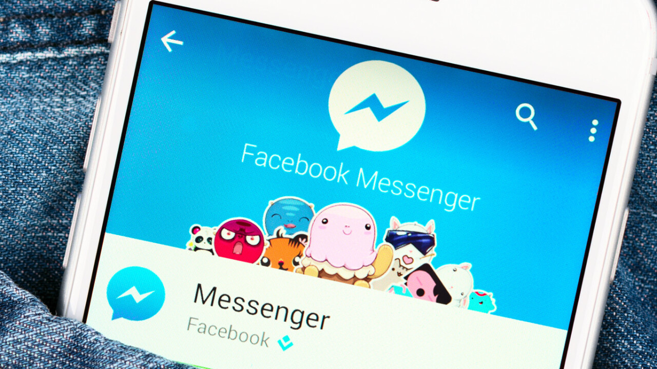 Facebook Messenger testing voice-to-text conversions
