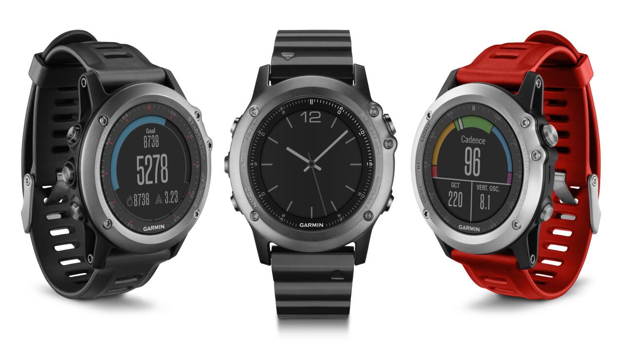 Garmin launches a trio of GPS smartwatches: Fenix 3, Epix and Vivoactive