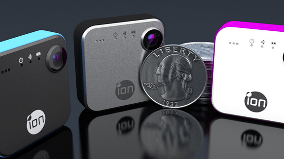 iON launches easy-to-use SnapCam wearable camera