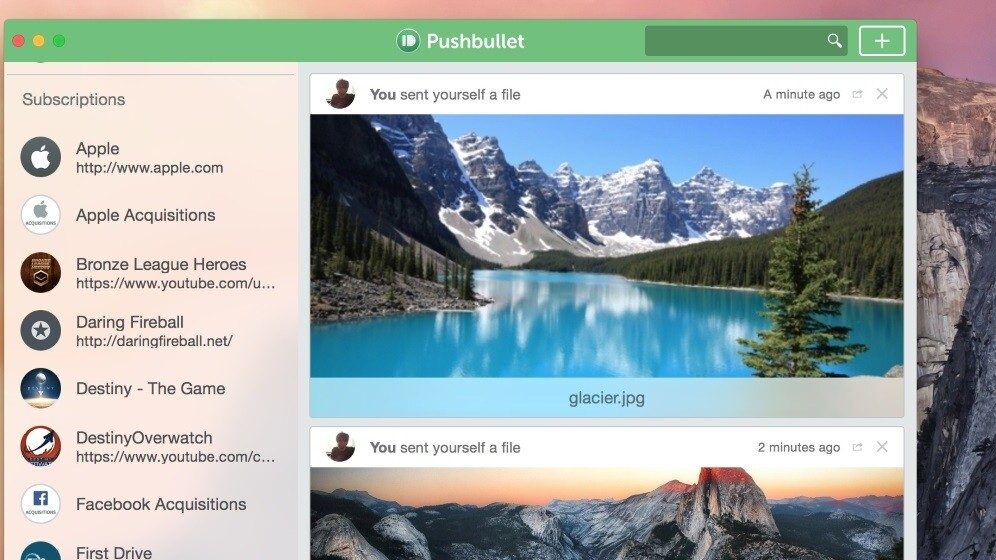 Pushbullet now lets you move files and mirror notifications between iPad, Mac and Safari too