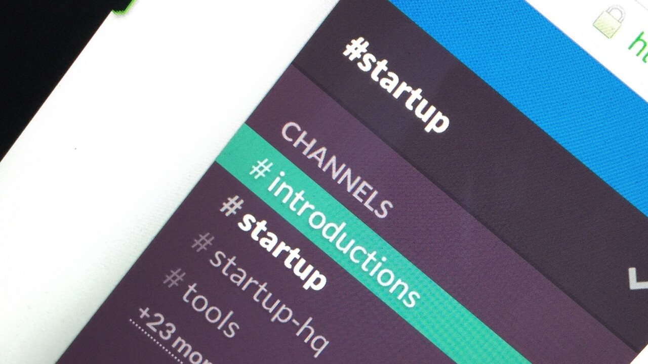 A growing community of startup founders is using Slack to exchange tips