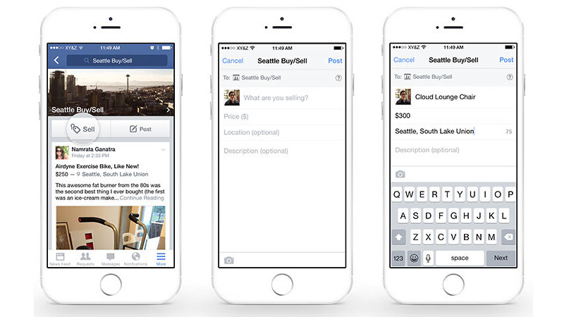 Facebook announces new tools to help you sell your stuff in Groups