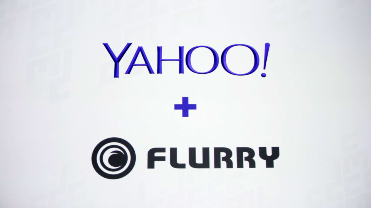 Yahoo and Flurry introduce Yahoo Mobile Developer suite for app analytics