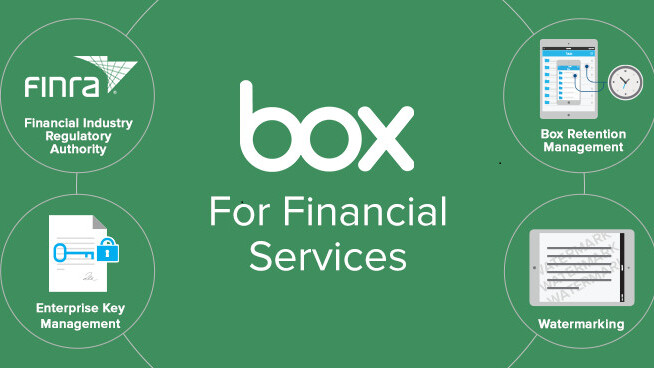 Box introduces specialized file retention and watermarking for financial services organizations
