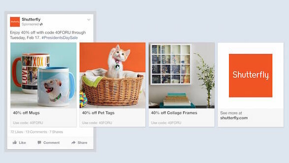 Facebook's new ads help businesses show their products to the right users