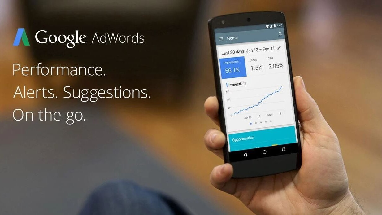 Google releases an Android app for AdWords… but only in Canada