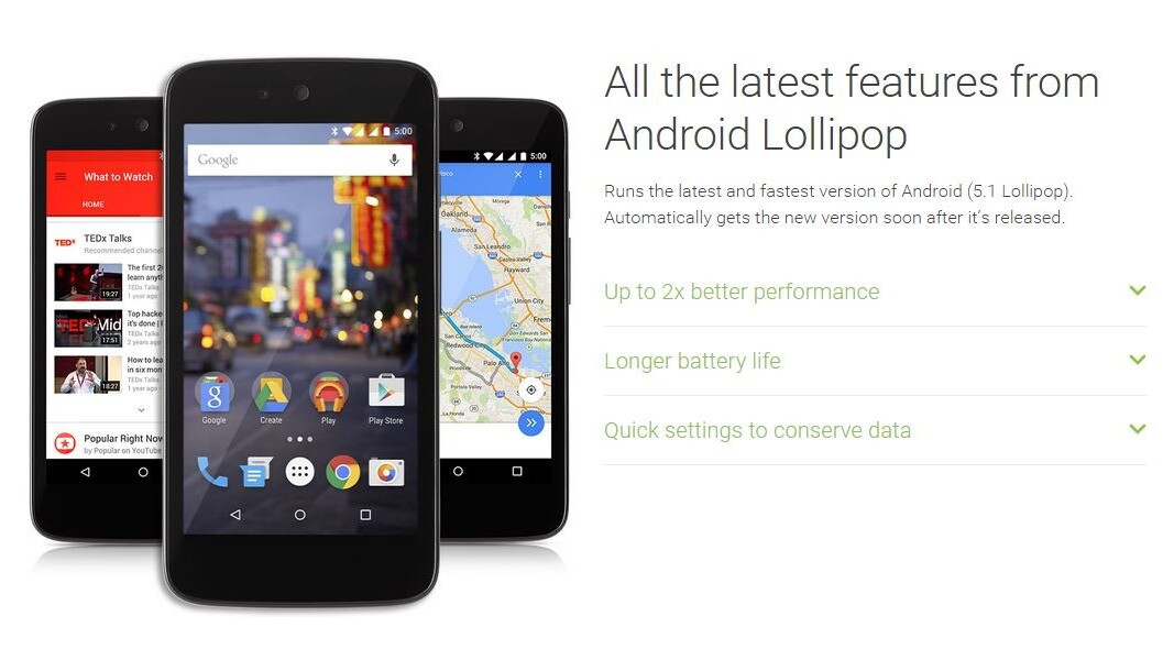 Android Lollipop 5.1 will arrive first on Android One devices for emerging markets