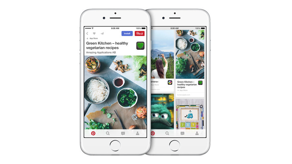 Apple teams up with Pinterest to make it easier to discover iOS apps