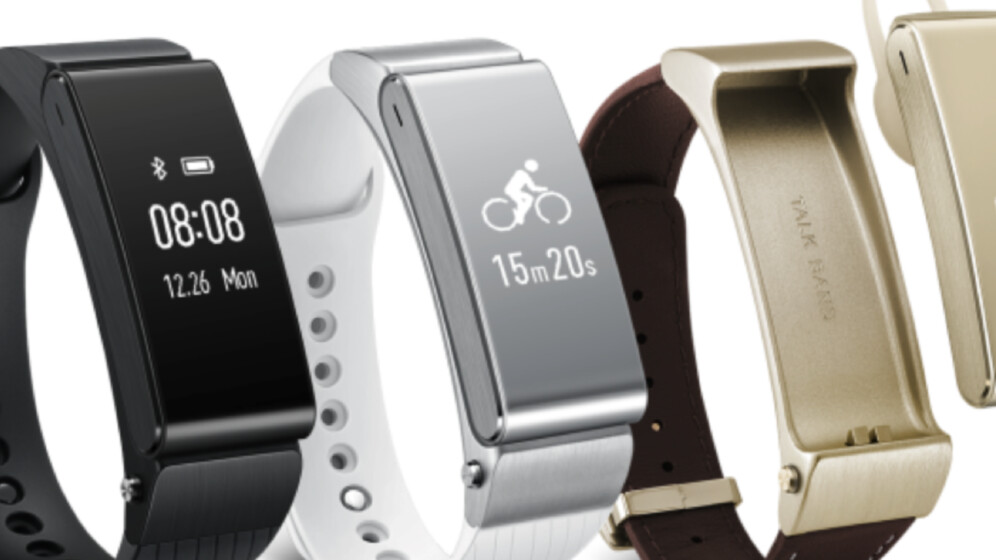 Huawei launches Talkband B2 activity tracker and N1 earbud hybrid