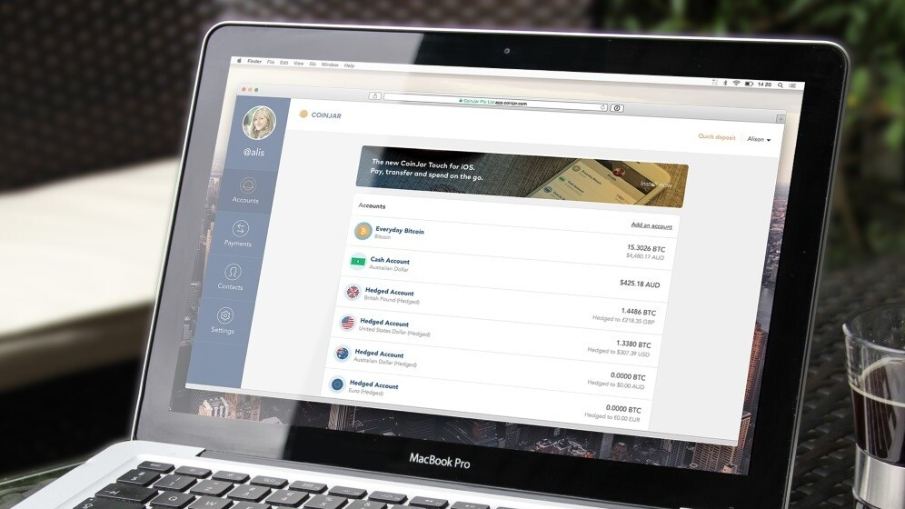 CoinJar launches Hedged Accounts to offset Bitcoin currency fluctuations for users