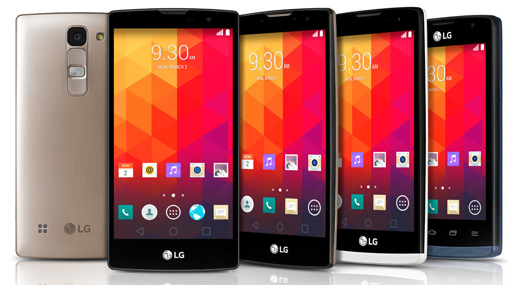 LG aims for the mid-range smartphone segment with four new Android Lollipop devices