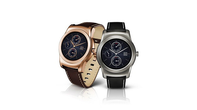 LG's new smartwatch is a stylish all-metal affair