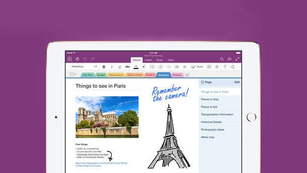 Microsoft adds handwriting features and OCR to OneNote for iPad