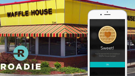 This company wants you to deliver other people's packages and get free waffles