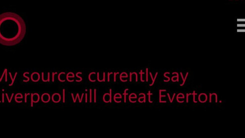 Cortana kicks off Premier League match predictions by backing Liverpool and Arsenal