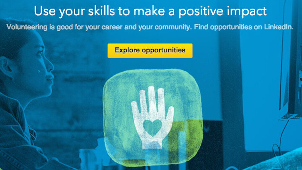 LinkedIn opens UK Volunteer Marketplace to connect professionals with charities