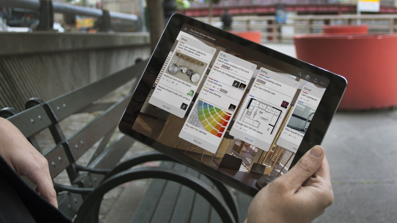 Trello releases giant iOS update with new design, widget and iOS sharing