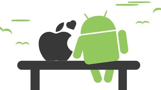 Android vs. Apple: Can't we all just get along?