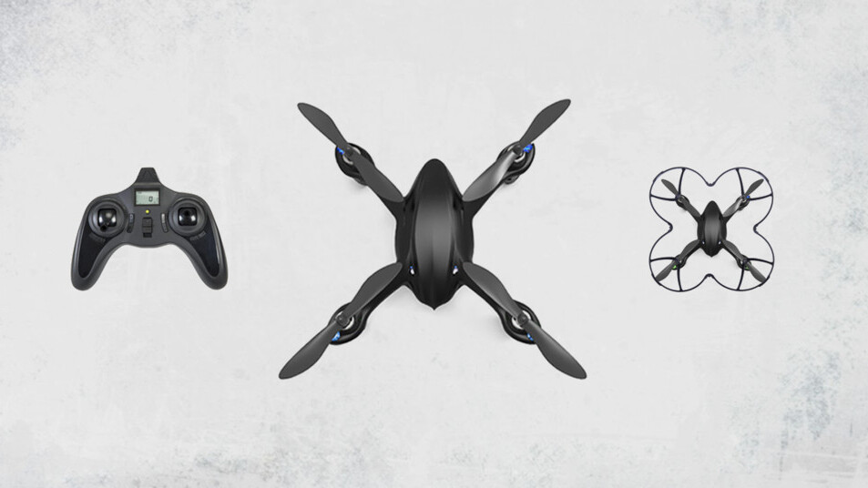 55% off the limited edition Code Black Drone + HD Camera pre-order exclusive
