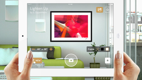 Curioos augmented reality art market lets you view prospective purchases on your own wall