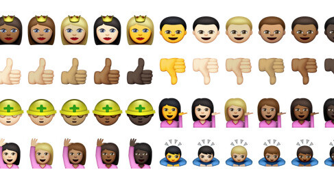 Here's how to use those new, diverse emoji in iOS 8.3 and OS X 10.10.3