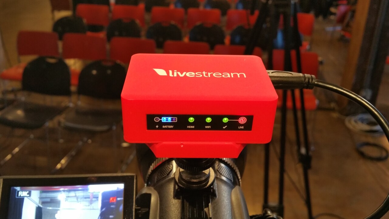 New Livestream Broadcaster mini lets you encode and stream HD video from any camera