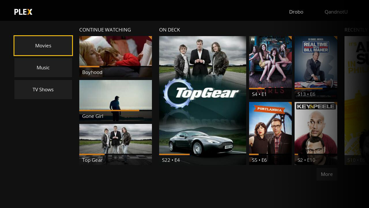 Plex for Roku gets updated with flat design for smoother, faster access to your library