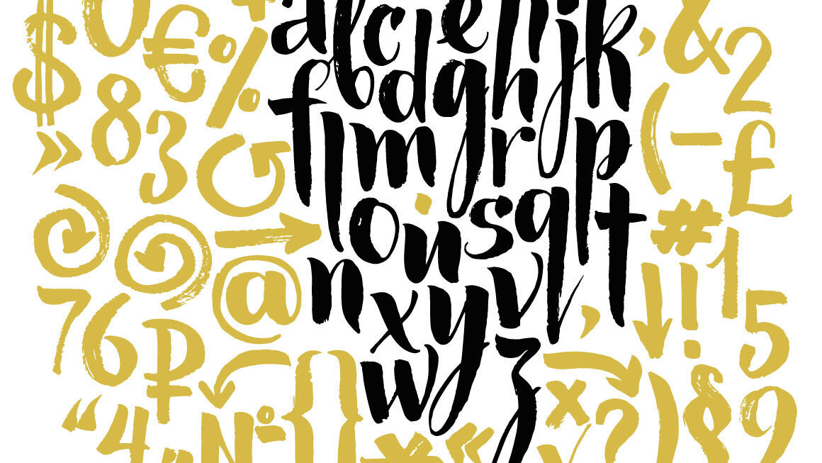 29 of the most beautiful typefaces from January 2015