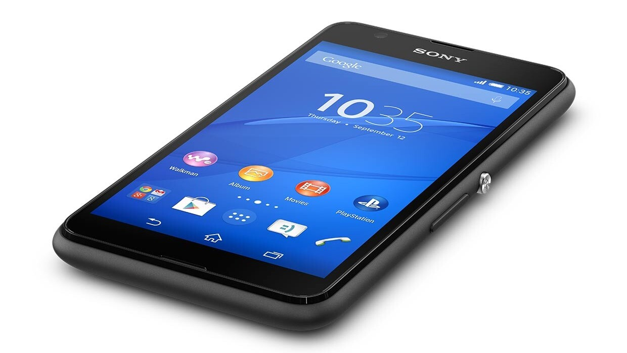 Sony's 4G version of the Xperia E4 will arrive from April priced at $145
