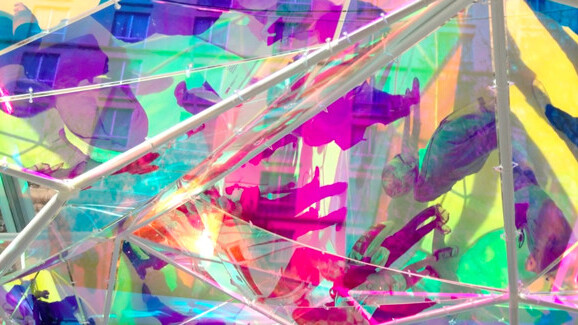 Art and tech meet under a kaleidoscope of brilliant hues at SXSW