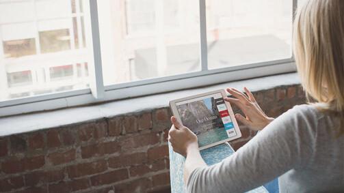 Adobe Slate for iPad brings online storytelling skills to the masses
