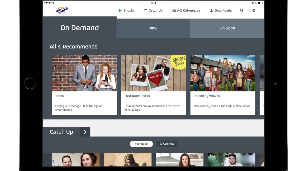 First look: Channel 4's new All 4 on-demand streaming platform