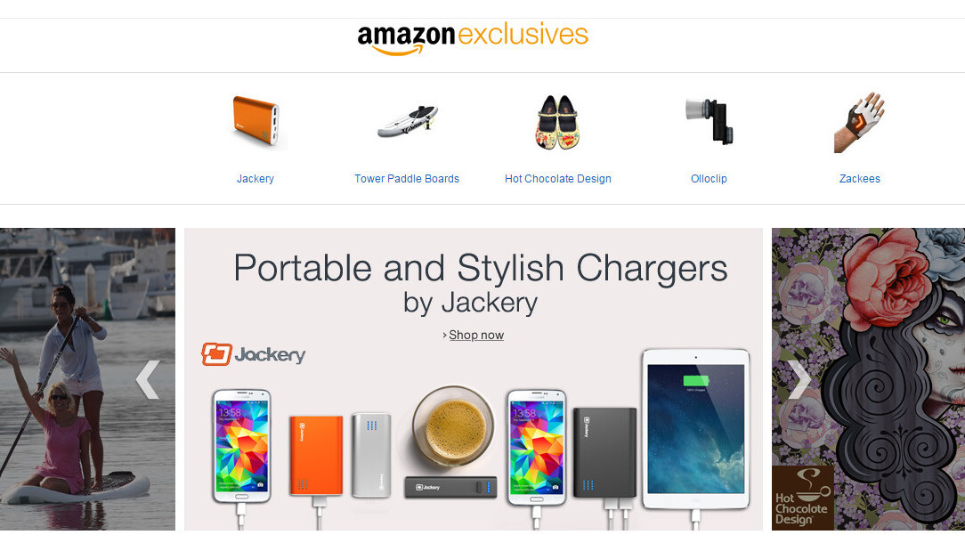 Amazon launches new Exclusives store, including products from TV's Shark Tank