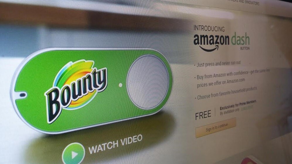 Amazon activates first Dash-enabled devices so you never have to order toner again