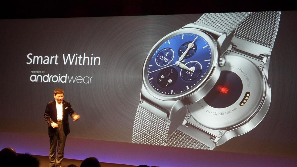 Huawei Watch is powered by Android Wear, and it's stunning