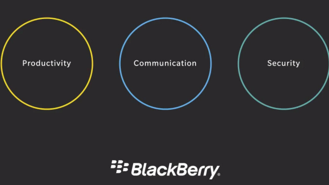 BlackBerry is betting big on its upcoming cross-platform business apps