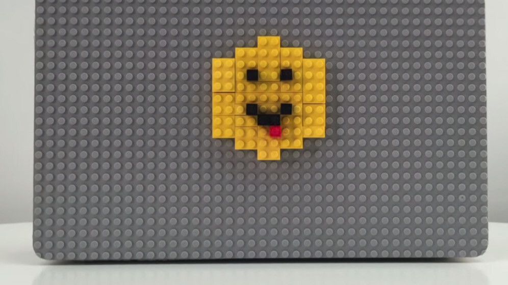 This MacBook case lets you dress up your laptop with LEGO bricks