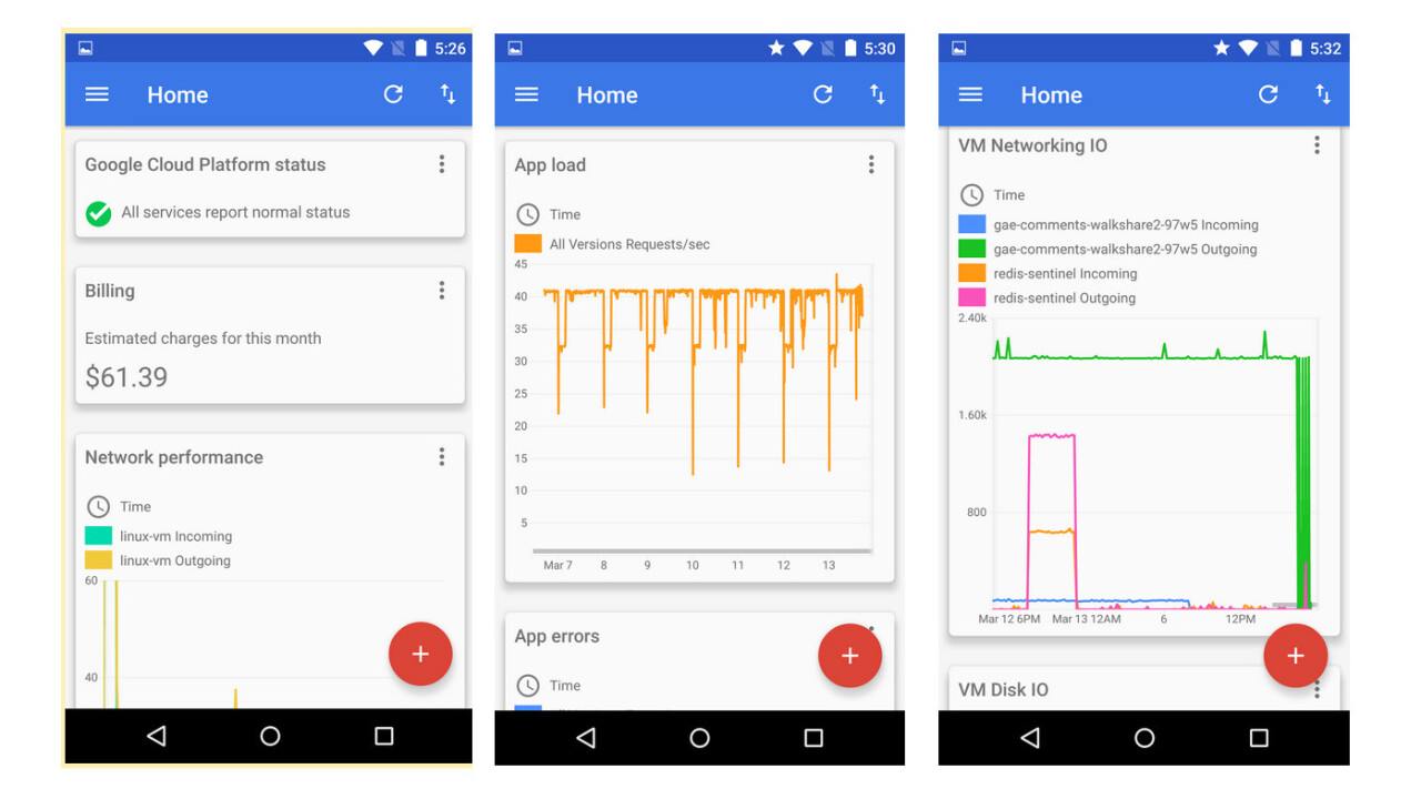 Google's Cloud Console for Android lets you manage your App Engine projects on the go
