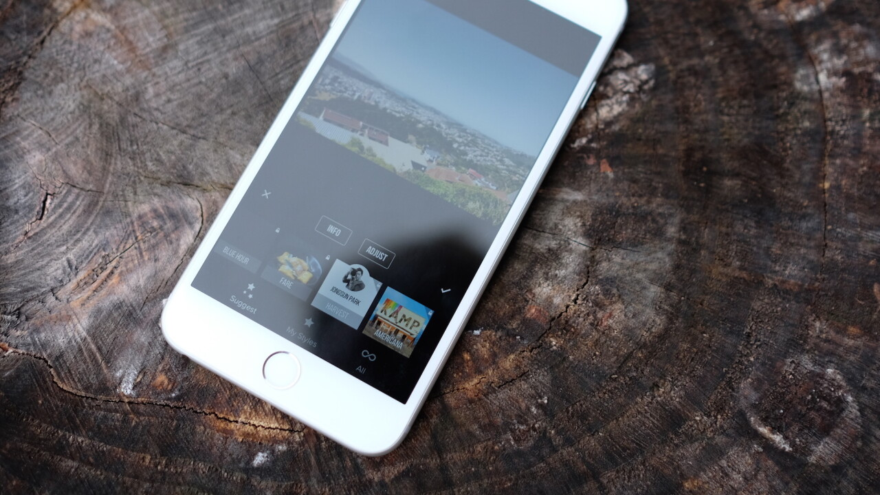 Priime for iPhone intelligently suggests which filters to use on your photos
