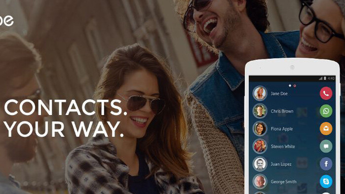 Drupe for Android lets you hit up your favorite contacts with two swipes