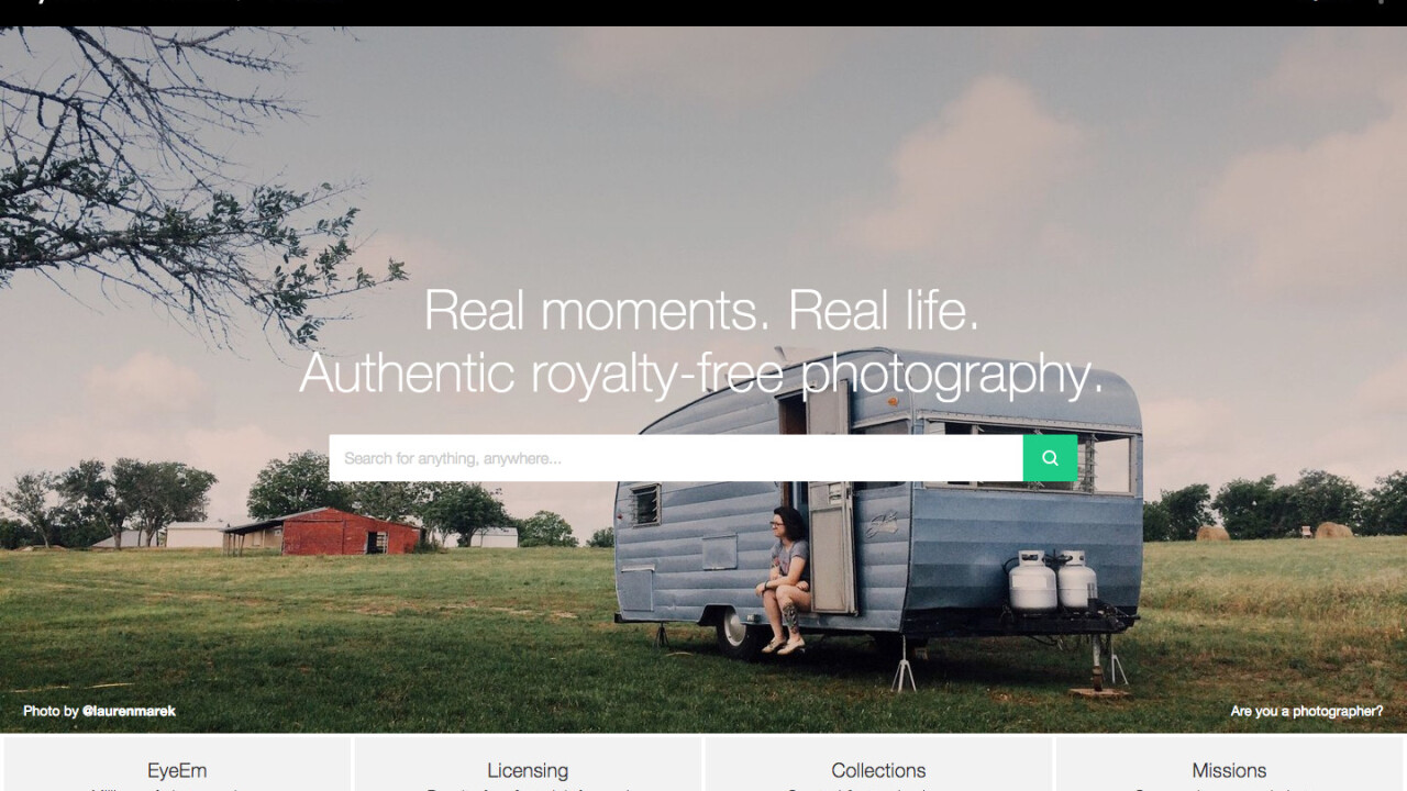 Photo-sharing app EyeEm lets users sell their images through a new Market