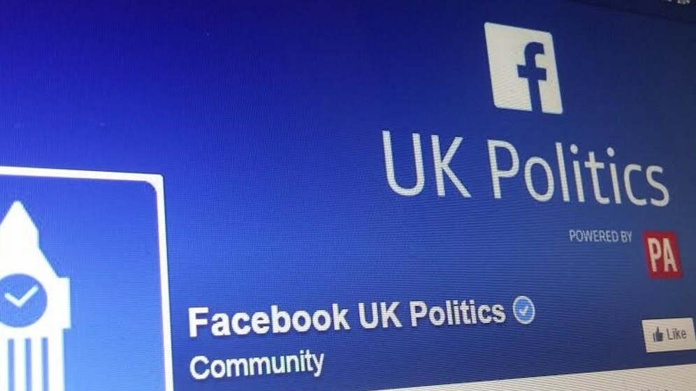 Facebook partners with the Press Association for its curated Election 2015 content